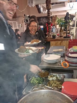 Climate Justice Fortnight Community Meal