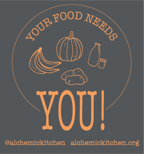 Your Food Needs You